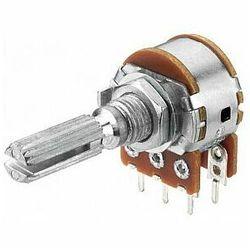 MONACOR VRA-141S50 Potencjometr logarytmiczny stereo, 50kΩ