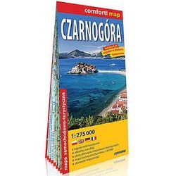 Czarnogóra laminowana mapa samochodowo-turystyczna 1:275 000 - Praca zbiorowa
