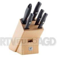 Noże kuchenne, Zwilling Zestaw noży w drewnianym bloku Life 6 elementów