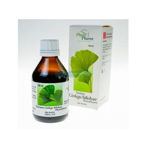 Preparaty ziołowe, Tinctura ginkgo bilobae 100 g (Phytopharm)