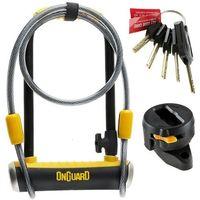 Zabezpieczenia do roweru, Onguard Pitbull DT 8005 Zapięcie typu U-lock 115x230 mm Ø14 mm ż U-locki