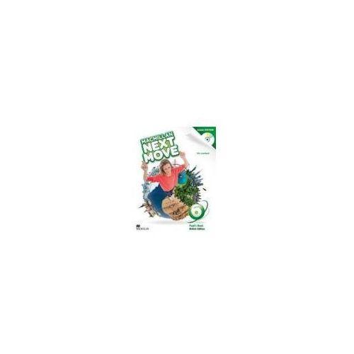 Książki do nauki języka, Macmillan Next Move 6 SB +DVD-Rom (opr. miękka)