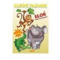Literatura młodzieżowa, Ulubione malowanki słoń i inne zwierzęta - ernest błędowski (opr. miękka)