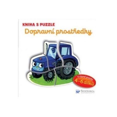 Puzzle, Kniha s puzzle Dopravní prostředky Brüggemann, Vera