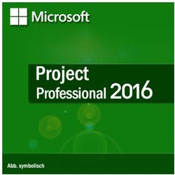 Microsoft Project Professional 2016 Medialess PL