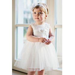 Sukienka niemowlęca na Chrzest 6K38AJ Oferta ważna tylko do 2023-12-04