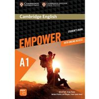 Książki do nauki języka, Empower Starter. Podręcznik + Online Assessment and Practice + Ćwiczenia Online (opr. miękka)