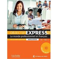 Książki do nauki języka, Objectif Express 2 Podręcznik - mamy na stanie, wyślemy natychmiast (opr. broszurowa)