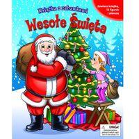Książki dla dzieci, Wesołe Święta. Książka z zabawkami (opr. twarda)