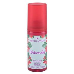 Makeup Revolution London I Heart Revolution Fixing Spray Watermelon utrwalacz makijażu 100 ml dla kobiet
