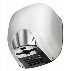 Suszarka do rąk Super Power - aluminium biała   10-12 sek   550W