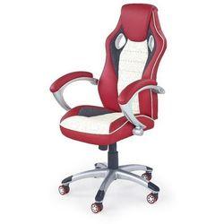 Ventura fotel gamingowy dla graczy czerwono - kremowy