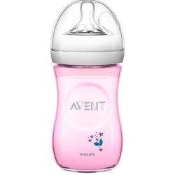 Butelka AVENT dla niemowląt Natural 260 ml - Różowy
