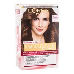 L´Oréal Paris Excellence Creme Triple Protection farba do włosów 48 ml dla kobiet 5,02 Light Brown