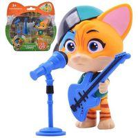 Figurki i postacie, Figurka 44 koty bajka lampo z gitarą smoby