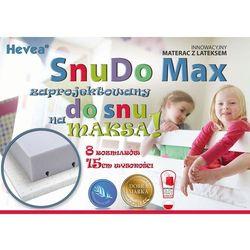 MATERAC WYSOKOELASTYCZNY HEVEA SNUDO MAX 160x80 + rękawiczki gratis!!