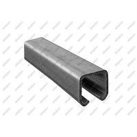 Przęsła i elementy ogrodzenia, Profil do bramy przesuwnej Zn, 33x34x2mm, L3m