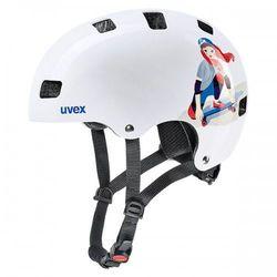 UVEX kask rowerowy Kid 3 biały 51-55 cm