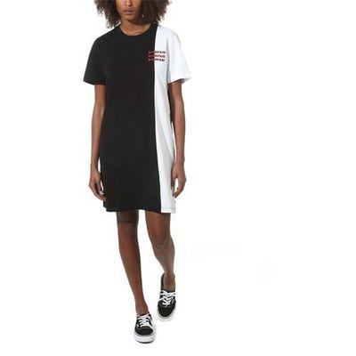 Sukienka superspeedee tee dress black (blk) rozmiar: m, Vans