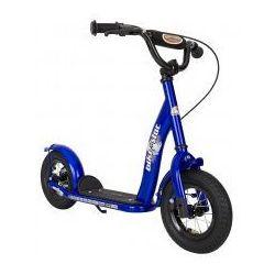 """Hulajnoga dla dzieci, pompowane koła 10"""" BikeStar, kolor granatowy"""