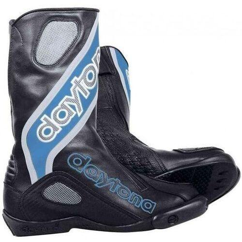 Buty motocyklowe, Buty motocyklowe daytona evo sports czarno-niebieskie