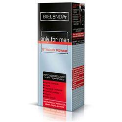 Bielenda Only for Men Strong Power krem regenerujący przeciw zmarszczkom (Hyaluronic Acid, Coenzyme Q10, Collagen, Magnesium, Pro-Retinol) 50 ml