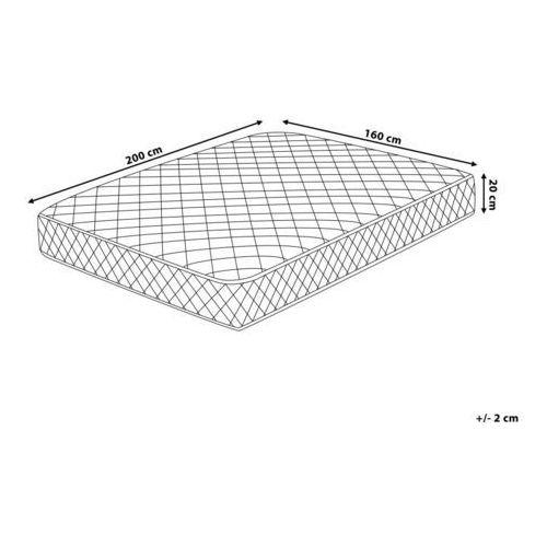 Materace, Materac kieszeniowy dwustronny 160 x 200 cm DUO