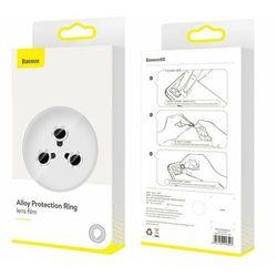 Baseus Alloy Protection   Szkło ochronne hartowane na obiekty aparat do iPhone 11 Pro / 11 Pro Max 0.4mm EOL