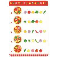 Kuchnie dla dzieci, Pizza z karty