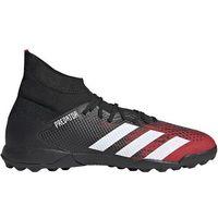 Piłka nożna, Buty piłkarskie adidas Predator 20.3 TF czarno-czerwone EF2208
