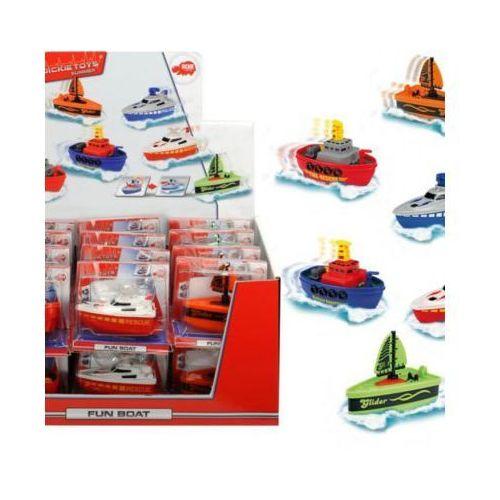 Łodzie i statki dla dzieci, Dickie Zabawna łódka, 7 cm, 6 rodzajów