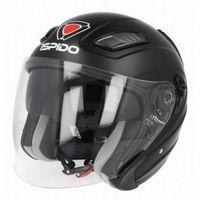 Kaski motocyklowe, KASK MOTOCYKLOWY ISPIDO AVIATOR SV - BLENDA - Czarny Matt!