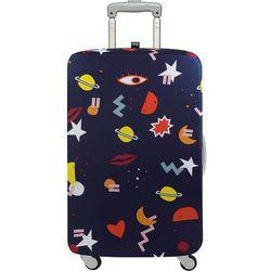 Pokrowiec na walizkę LOQI Celeste Wallaert Night Night