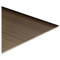 Pozostałe artykuły dachowe, Płyta poliwęglan komorowy Palram brązowa 0,98 x 2 m 16 mm 1,96 m2