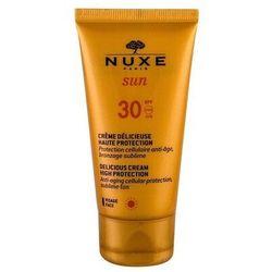 NUXE Sun Delicious Cream SPF30 preparat do opalania twarzy 50 ml tester dla kobiet