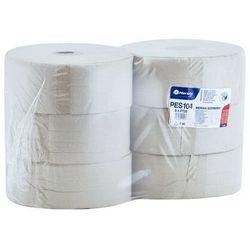 Papier toaletowy Merida Economy, 1 warstwa, makulatura - 6 rolek