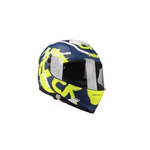 Kaski motocyklowe, LAZER Kask integralny RAFALE Street Navy/ Ż Fl Bia