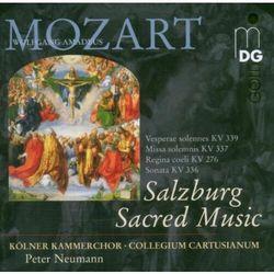 W.A. Mozart - Salzburg Sacred Music:Mis