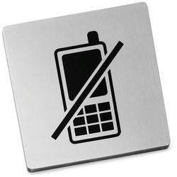 Szyld Zack Indici zakaz używania telefonów