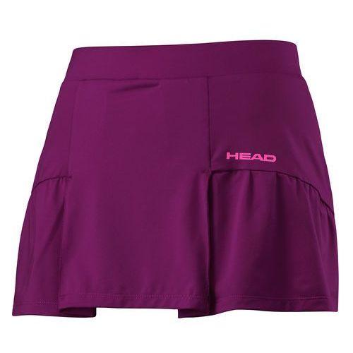 Odzież do tenisa i pokrewnych, Head spódniczka tenisowa Club Basic Skort G Purple 164