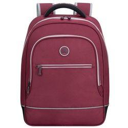 Delsey Back To School plecak damski / szkolny / bordowy - Raspberry
