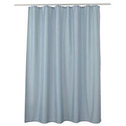 Zasłonka prysznicowa Diani 180 x 200 cm niebieska