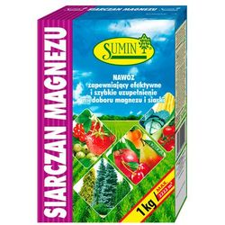 Siarczan Magnezu 1kg Sumin Nawóz na Niedobór Magnezu i Siarki