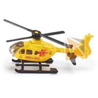 Ambulanse dla dzieci, Helikopter metalowy Ratunkowy 7cm SIKU 0856