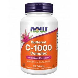 NOW Foods Witamina C-1000 Complex - Buforowany 250mg bioflawonoidów - 90 tabletek