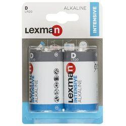 Bateria ALKALICZNA INTENSIVE LR20/D 2 SZT. LEXMAN