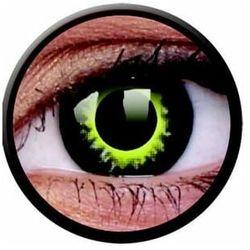 Soczewki kolorowe czarne ECLIPSE Crazy Lens 2 szt.