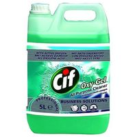 Pozostałe środki czyszczące, Płyn do podłóg CIF Professional Oxy-Gel ocean 5L