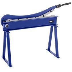 Nożyce do blachy - gilotynowe - ręczne - 800 mm