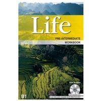 Książki do nauki języka, Life Pre-Intermediate Ćwiczenia + CD (opr. twarda)